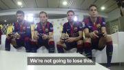 ♥ فیفا 15 بازی کردن بازیکنان بارسلونا ♥