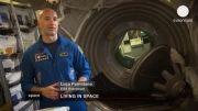 نگاهی به زندگی فضانوردان در ایستگاه فضایی بین المللی(دوبله)
