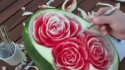Roozmenu.com - آموزش حکاکی روی هندوانه