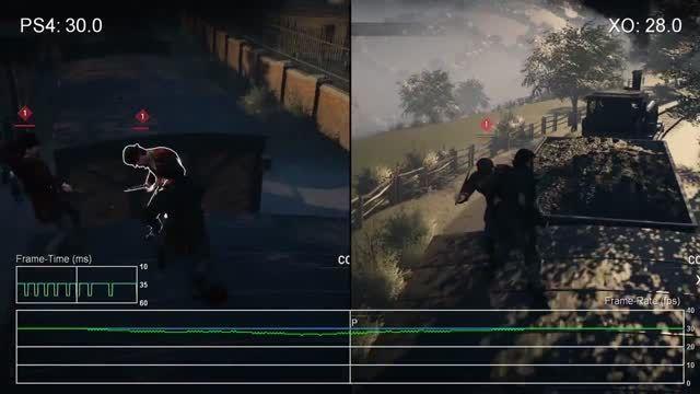 مقایسه میزان فریم ریت بازی Assassins Creed Syndicate