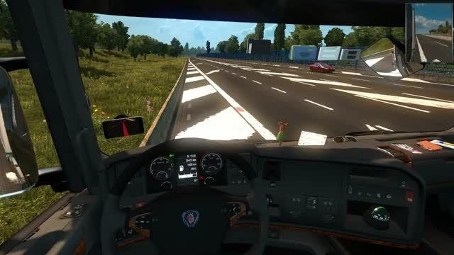 تست مد صدای کلیدهای داخلی کامیون
