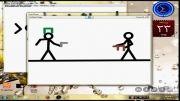 انیمیشن حمله اسراییل به غزه