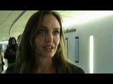 حضور آنجلینا جولی در محاکمه ای در دادگاه لاهه