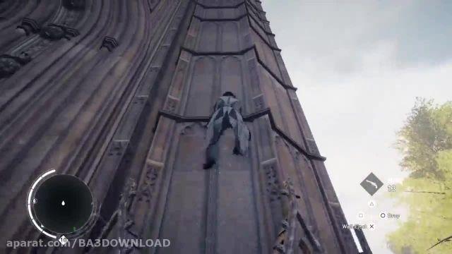 بالا رفتن از بلند ترین برج لندن در بازی AC Syndicate