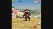 ویدیو کلیپ  بازی جالب Clumsy Ninja