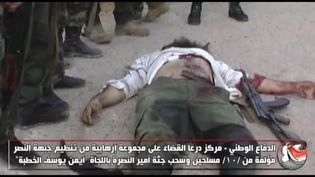 هلاکت یکی از خران بزرگ النصره در کمین دفاع وطنی سوریه