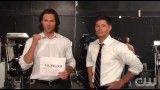 Supernatural Fans Online - Jared and Jensen- 10 Million Fans Thank You.