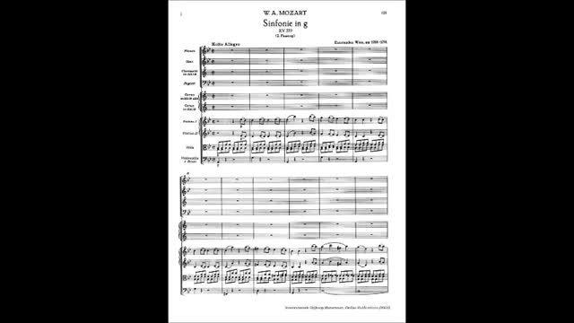 سمفونی 40 موتزارت (کامل)