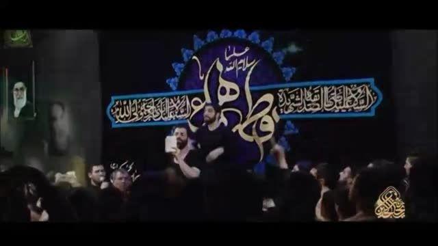 حاج حسین سیب سرخی و حاج سید مجید بنی فاطمه