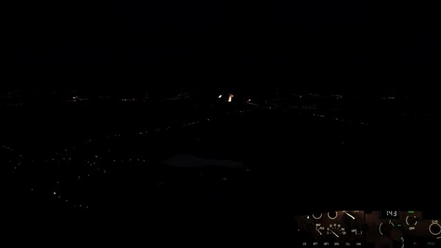فرود تماشایی بویینگ 737 در شب ،شبیه ساز الماس
