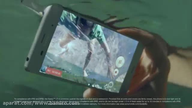 فیلم  تبلیغاتی Sony Xperia z3  از بامیرو