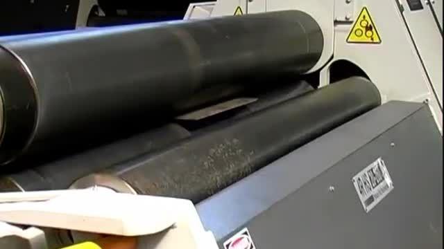 نورد چهار غلطک 2متر 16 میلیمتر تمام هیدرولیک با خطکش