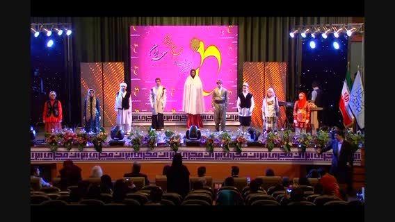 گروه سرود ناشنوایان دستان گویا از یزد در جشنواره مجریان