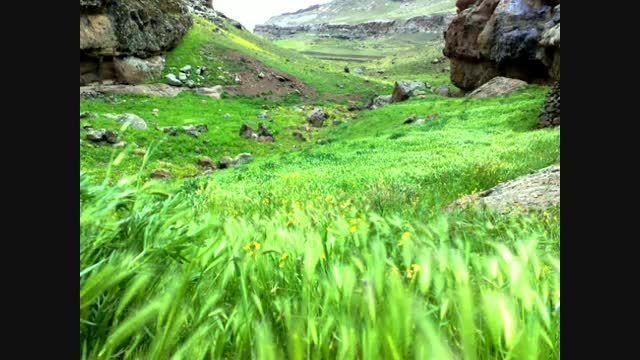 مناظر بی نظیر طبیعت اطراف دریاچه ارومیه