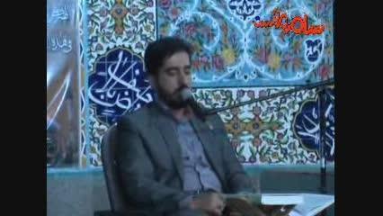 مروست حضور حاج حسن دانش در مراسم شهادت امام حسن