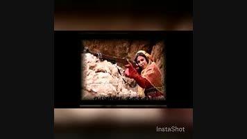 کلیپ دخترهای قشقایی -لباس محلی ترکی قشقایی- آهنگ قشقایی