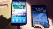 Galaxy S4 vs Galaxy Note 2