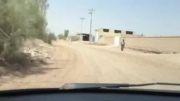 جاده دسترسی باشگاه های سوارکاری صدوق-بعد از بازسازی-شهریور91