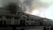 آتش سوزی بازار مبل