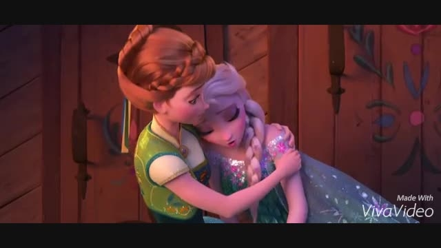 دوبله من از السا و آنا در Frozen Fever