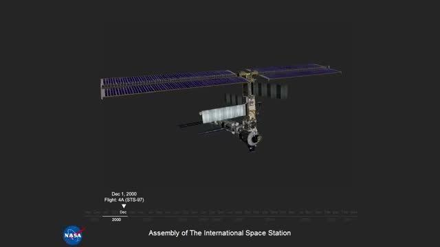 مراحل سوار کردن ایستگاه بین المللی فضایی
