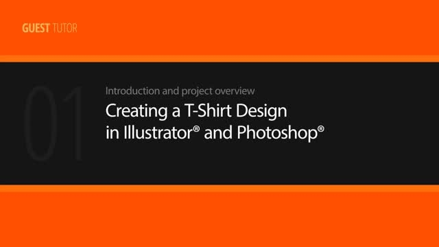 Creating a T-Shirt Design in Illustrator and Photoshop