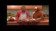 آموزش آشپزی گیاهی (وگان) - چلو خورش بادمجان