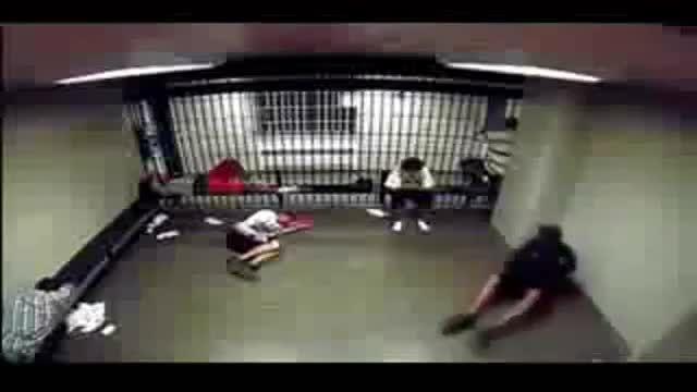 درگیری شدید در زندان