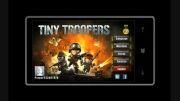 تریلر بازی Tiny Troopers برای ویندوز فون
