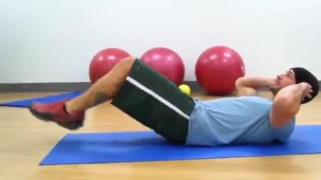 حرکات مناسب برای شکل دهی به عضلات شکم