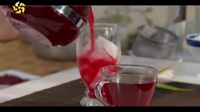 دمنوش چای ترش یا چای قرمز