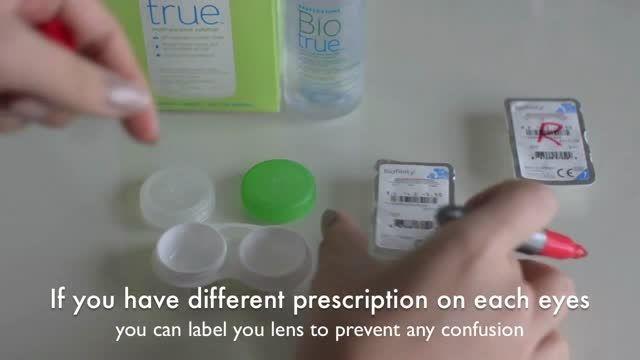 آموزش استفاده از لنز تماسی برای تازه کار ها