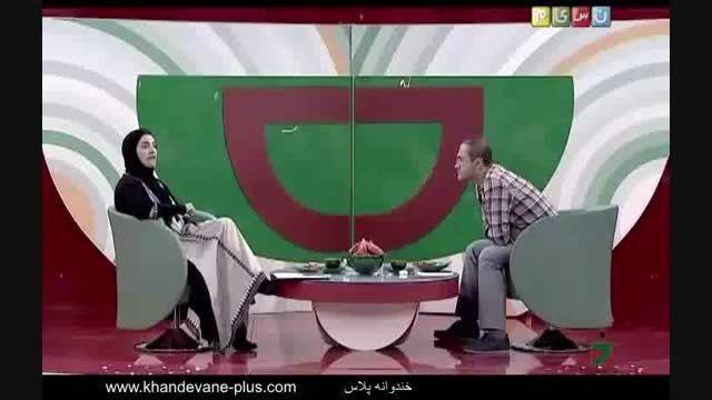 خندوانه - جناب خان و ناتاشا!