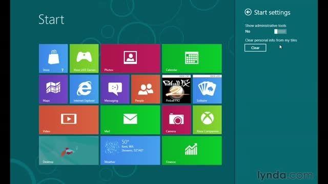 آموزش ویندوز 8 / تنظیمات و کنترل پانل آموزش ویندوز 8