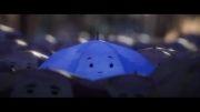 چتر آبی  (the blue umberlla)