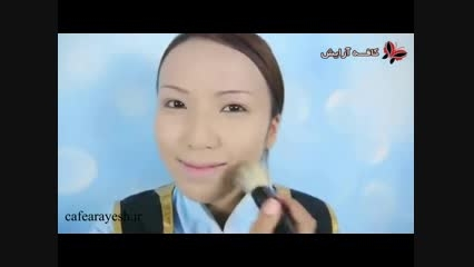فیلم آموزش آرایش و میکاپ به شکل انا - مخصوص مهمانی ها