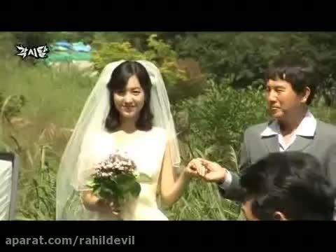 پشت صحنه ی سریال(ماسک عروس)_قسمت آخر_مون جو وون
