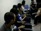 اتاق انتظار در مسابقه روبیک اصفهان