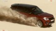 قدرت رنجرور در صحرا(رالی)Range Rover 2014