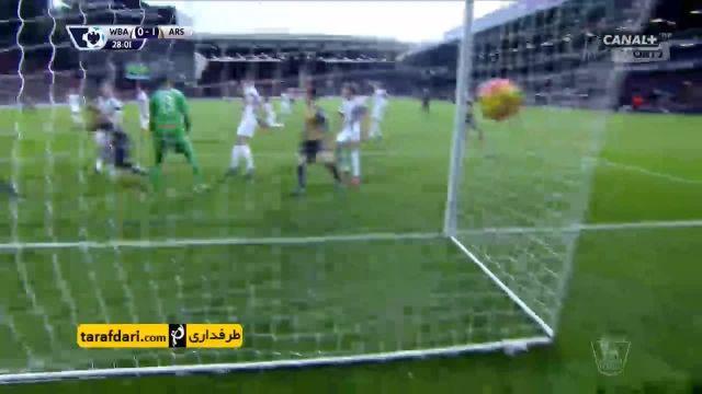 خلاصه بازی وست برومویچ 2-1 آرسنال