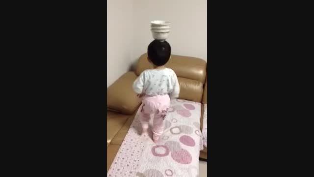 مهارت خارق العاده این کودک یک ساله