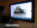 نمایشگر لمسی در ارتش