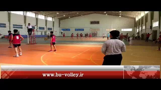 مسابقات والیبال امیدهای استان بوشهر | برازجان - اهرم