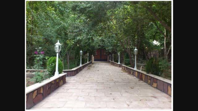 1200 متر باغ ویلا فوق العاده لوکس در شهریار کد:112