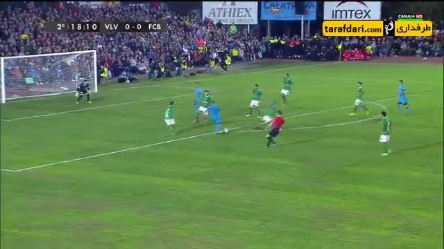 خلاصه بازی ویانوونزه 0-0 بارسلونا