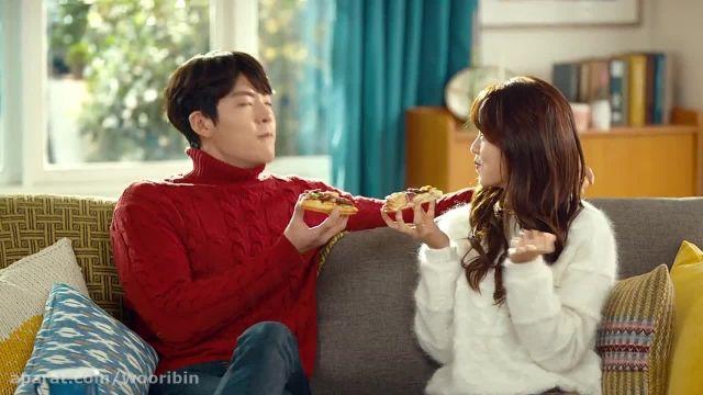 Kim Woobin  Kim Sohyun for Domino's Pizza New CF