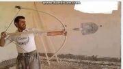 تیر و کمان جدید رابین هود (برای نابودی قلعه ها و...)