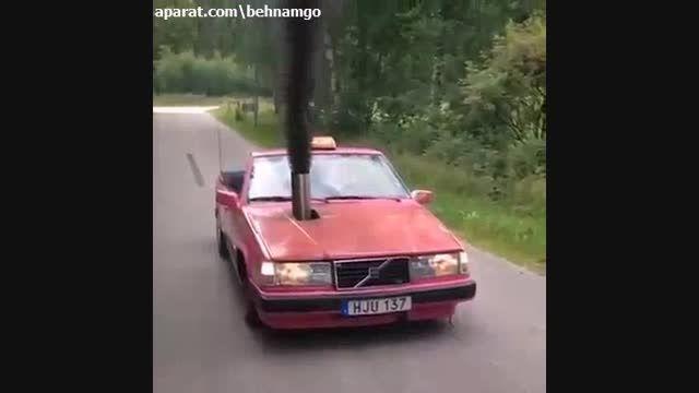 با ماشین چیکار میکنه..!