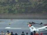 هواپیما قدیمی بدون نیاز به باند فرود