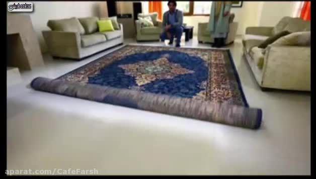 تیزر تبلیغاتی فرش فرهی و فروش ویژه آن در کافه فرش
